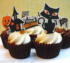8 x Halloween | commestibili | Pop Top Torta Decorazioni per Cupcake | | Toppers