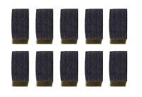 Wholesale price! Quantity 10X Pool Black Layers Cue Tips 14 MM Soft/Medium/Hard