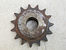 "Sprocket     50 Pitch    15 Tooth    7/8"" Bore    Hard Teeth"