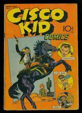 Cisco Kid Comics #1 VG 4.0