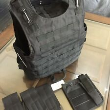 BODY ARMOR BULLETPROOF Vest 3a Tactical Plate Carrier Made With Kevlar Inserts