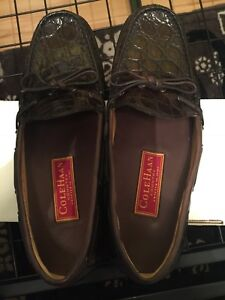 Unisex Cole Haan Genuine Crocodile Shoes NIB (Size US size 8)