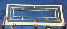 Large Antique 15 Lite 25x60 Entryway Transom Window Sash Old Vintage 280-20E