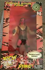 """1998 Signature Series 12"""" Sting WCW KB Toys Limited Edition Mib"""