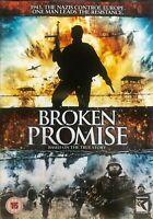Broken Promise DVD Region 2 UK - Biography War Drama 1943 WW2 Nedodrzaný slub