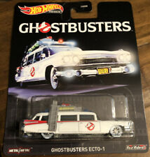 Hot Wheels Premium Retro Entertainment -  GHOSTBUSTERS ECTO-1 with Real Riders
