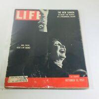 VTG Life Magazine: Oct 13 1952 - Mamie Eisenhower/Canada/Marilyn Monroe