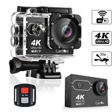 Action Camera 4K HD 16MP WiFi Waterproof 30M Sports Camera With 170° Wide Angle