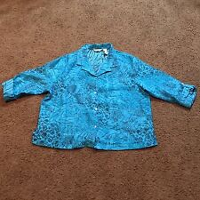 French Laundry Women's Blouse Sheer XL Never Worn