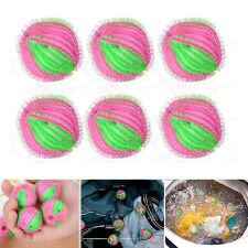 6PCS Hair Fluff Removal Laundry Washing Wash Ball Lint Grabbing Ball Nylon 3.5cm