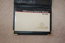 Owner's Manual Set for 1992 Lexus ES300 OEM Rare Factory Owners