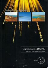 MATHEMATICS UNIT 1E (2009) maths western australia number algebra space chance