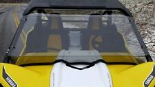 2016-17 Yamaha 1000 YXZ Clear Full Front Windshield- 1/4 Thick Polycarbonate!!