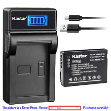 Kastar Battery LCD USB Charger for Leica BP-DC7 BC-DC7 & LEICA V-LUX 20 Camera