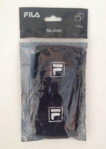 Fila Adults Unisex Wristband 1 Pair Navy One Size AC00607 410