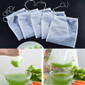 3Pc Reusable Food Filter Bag Milk Tea Fruit Nut Juice Nylon Mesh Net Strain Herb