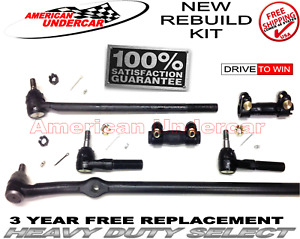 Heavy Duty Drag Link Tie Rod Sleeve Kit for Ford Bronco F100 150 250 350 2WD