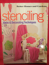 Stenciling : Ideas and Decorating Techniques (2001, Paperback)