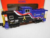 LIONEL NORFOLK SOUTHERN VETERANS WIDE VISION CABOOSE O GAUGE ns 6-84529 NEW