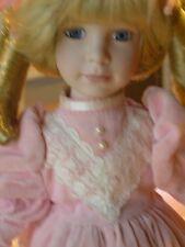 Most Beautiful Marian Yu Limited Edition Doll 1614/12500 Hamilton Gifts 18 inch