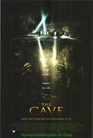 THE CAVE MOVIE POSTER Original DS 27x40 Horror Film 2005