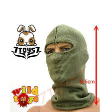 Wild Toys 1/6 Balaclava _OD Green #4 _Olive Mask_ For Figure Wear_WT005D