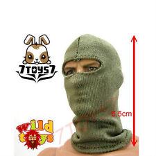 Wild Toys 1/6 Balaclava _OD Green #4 _Olive Mask_ For Figure Wear_WT005D