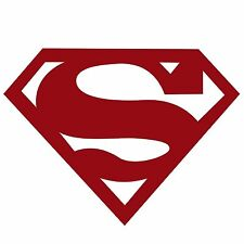 Super Man Vinyl Bumper Decal Sticker BEZ04A