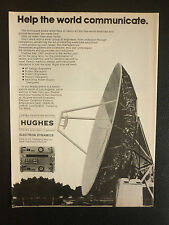 7/1982 PUB HUGHES AIRCRAFT ELECTRON DYNAMICS RADAR COMMUNICATIONS SATELLITE AD