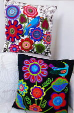 PATTERN - Tropical Fever Cushions - fun applique pillows PATTERN - 2 variations