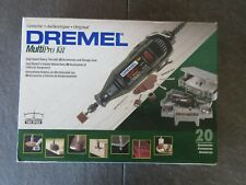SEALED DREMEL MULTIPRO KIT NO. 2853 & STORAGE CASE & 20 ACCESSORIES ROTARY TOOL
