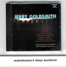 The Film Music of Jerry Goldsmith (2001) RARE OOP Telarc CD Soundtrack Comp
