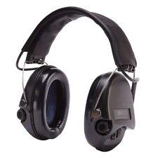 Sordin Supreme Pro - Black Cups, Leather Headband