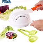 Multi Practical Salad Cutter Bowl Easy Salad Fruit Vegetable Washer Cutte