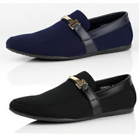Mens Smart Shoes Slip On Driving Moccasin Designer Loafers New Fashion Size UK