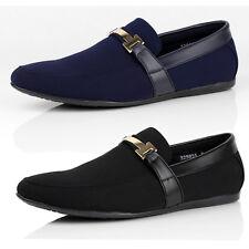 Mens Slip On Shoes Smart Driving Moccasin Designer Loafers New Fashion Size UK