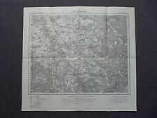 Karte des Deutschen Reiches 415 Borna, Rochlitz, Colditz, Grimma, Bad Lausick