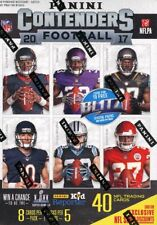 3x NFL Panini Contenders Football Blaster Box 2017 Superbowl Tickets 1 HIT! Auto