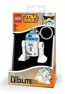 Llavero LED Figura R2D2 Star Wars LEGO 5 cm Key Light Ledlite