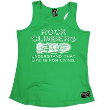 WOMENS Rock Climbers Understand Life Breathable bouldering GIRLIE TRAINING VEST