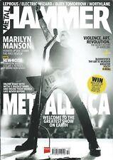 Metal Hammer #301 OCT 2017: METALLICA Marilyn Manson THY ART IS MURDER Fozzy