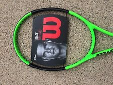 NEW 2017 Wilson Blade 98L 16X19  LIME Tennis Racquet 4 3/8 free shipping