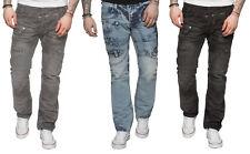 New ETO Jeans For Men Funky Style Biker Denim Pants in All Waist sizes 28 - 42