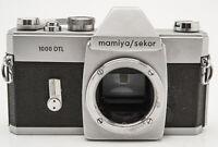 Mamiya/Sekor 1000DTL Spiegelreflexkamera SLR body Gehäuse