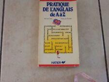 Livre Cours Anglais Pratique De L Anglais De A à Z