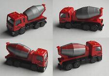 Majorette - MAN TGS Betonmischer LKW rot/grau