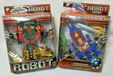 2-Transformable Robot Masters, Brand New In Package.