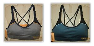 C9 Champion padded compression Medium support Athletic Bra Duo Dry removable cup