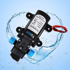 DC12V 5L/Min 115PSI Hochdruck Membran Automatisch Water Pumpe Wasserpumpe 60W DE