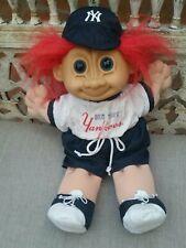 New York Yankees Red Headed 13 Inch Troll Doll MLB